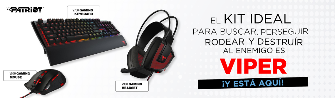 Viper | Patriot | Gaming | Teclados | Mouses | Headsets